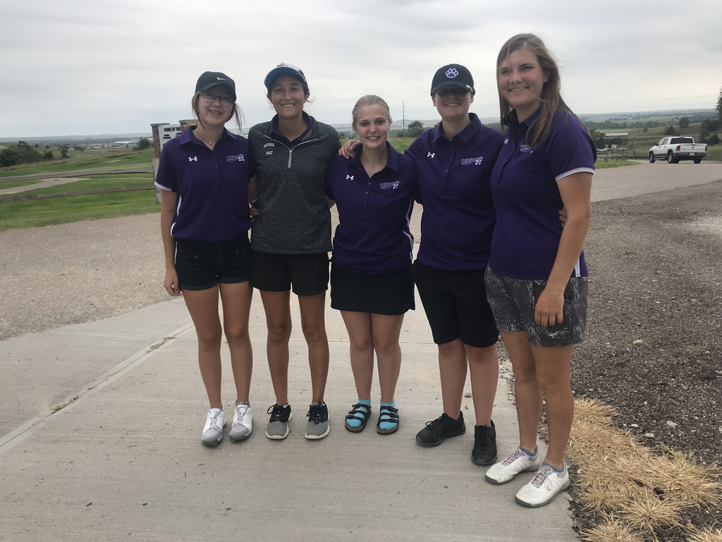 Girls Golf Team at McCook Invite
