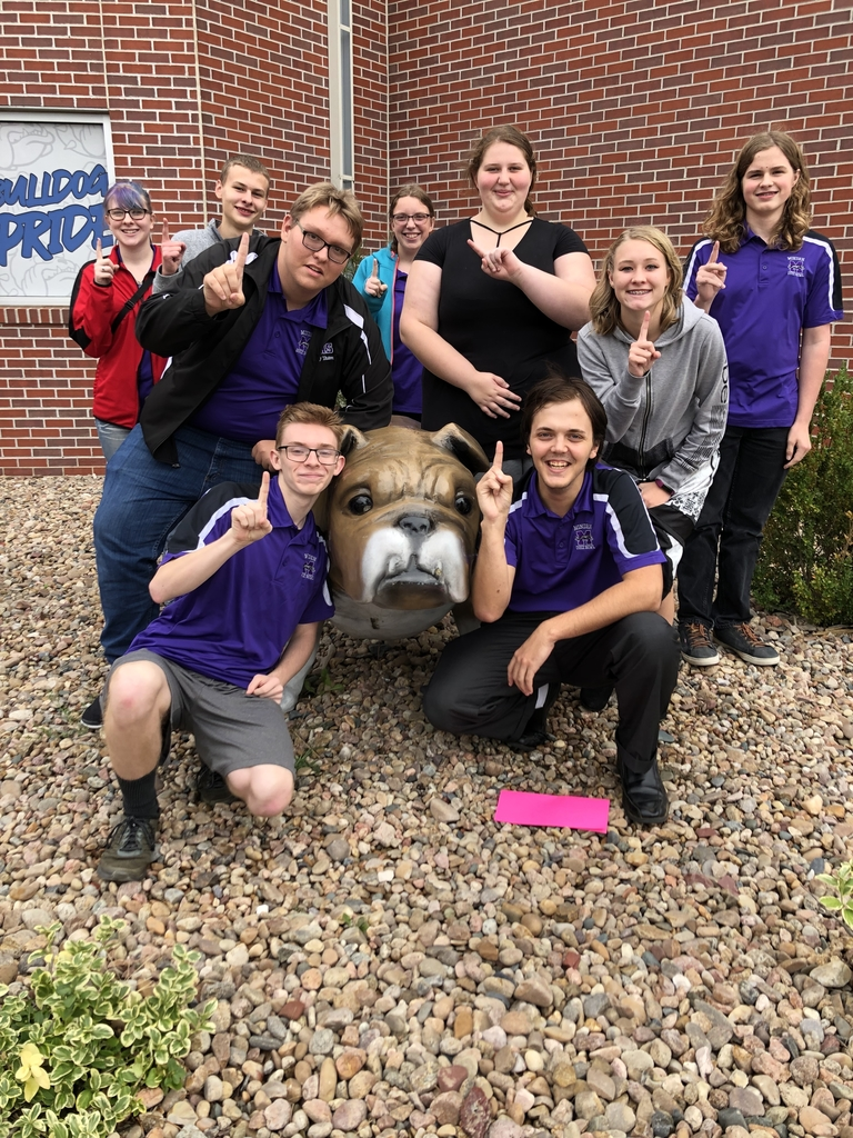 Quiz Bowl CHAMPS at Shelton today!