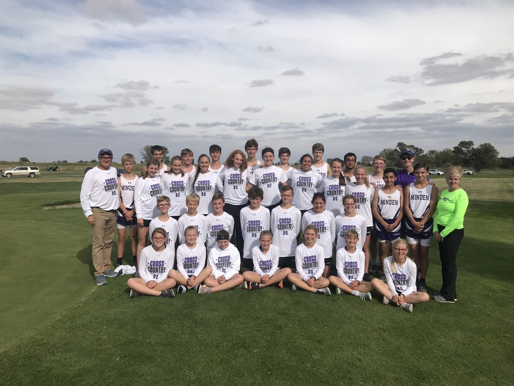 2019 Minden Whippet Cross Country Program