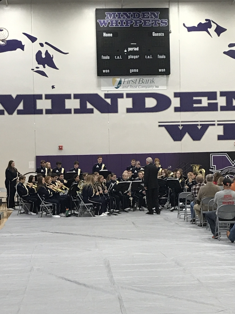 Minden high school band!