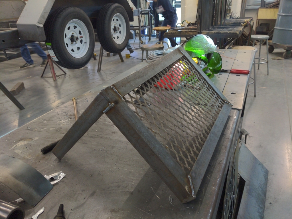 Plasma Cutter Shelf